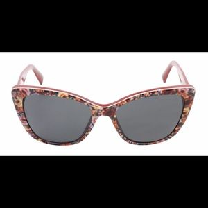 Dolce & Gabbana Red/Floral Sunglasses.